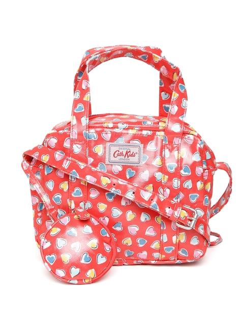 Cath Kidston Girls Red Heart Print Handbag