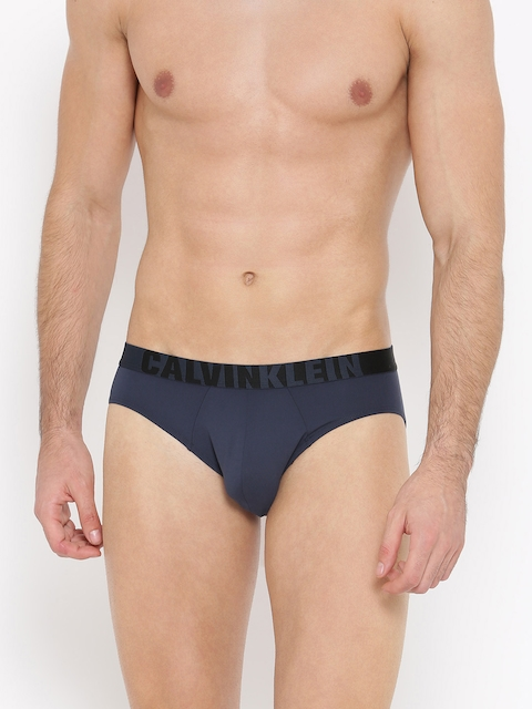 Calvin Klein Men Blue Solid Briefs NU86498SB