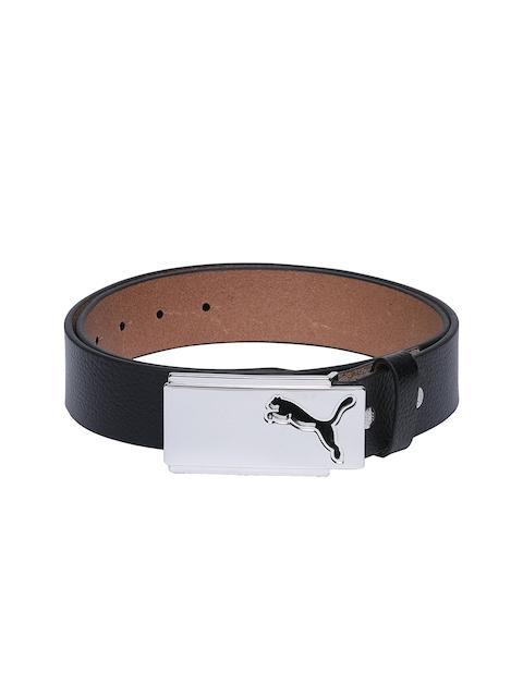 Puma Men Black Solid Belt