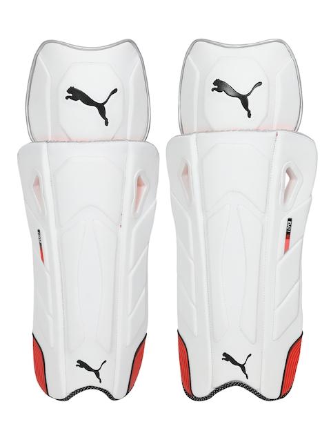 Puma Unisex White EVO 1 Wicket Keeper pad