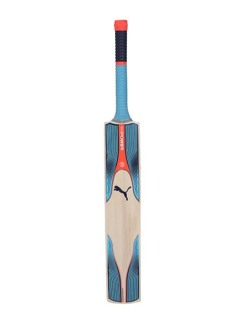 Puma Beige & Blue evoPOWER 1.17 SNR Cricket Bat