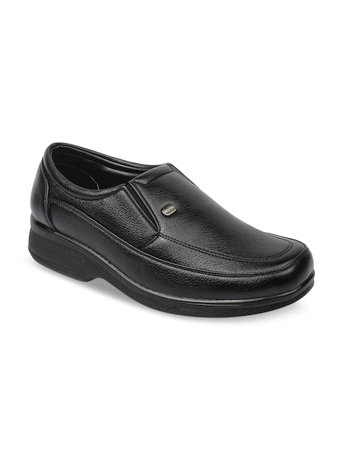 Action Men Black Semi-Formal Shoes