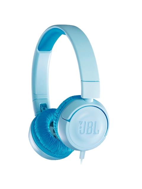 JBL Kids Blue On-Ear Wired Headphones JR300