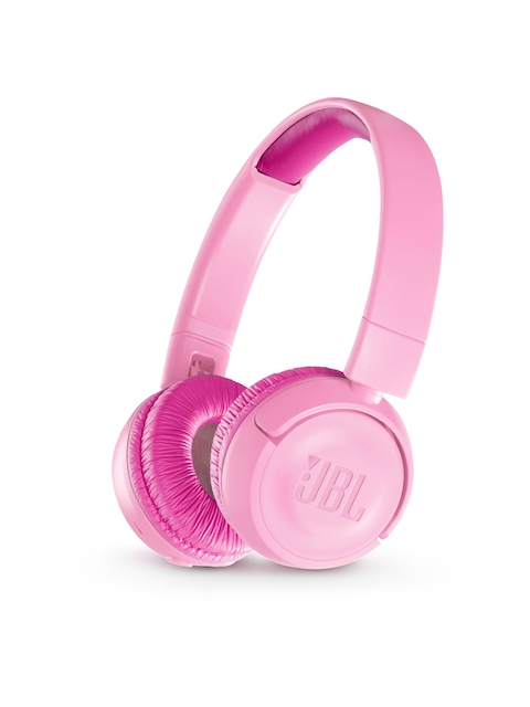 JBL Unisex Pink Junior 300 Wireless On Ear Headphones