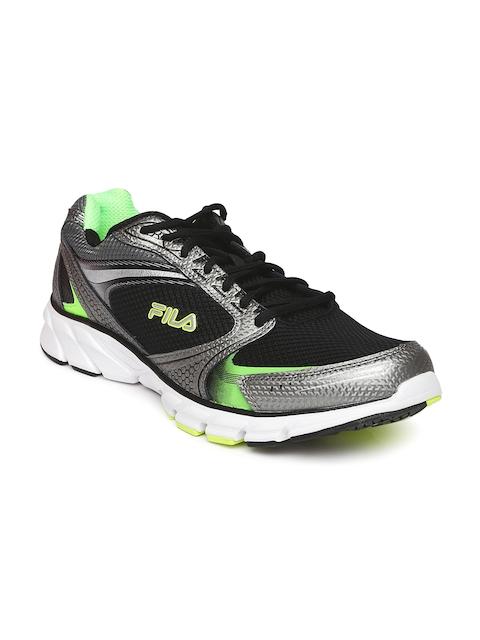 FILA Men Black FLIGHTSCAPE Running Shoes