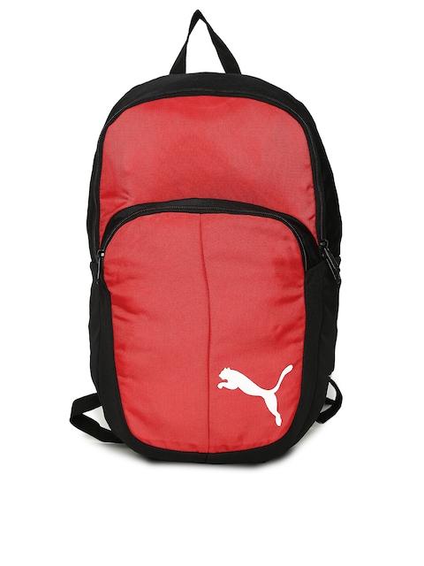 Puma Unisex Red Solid Pro Training II Backpack