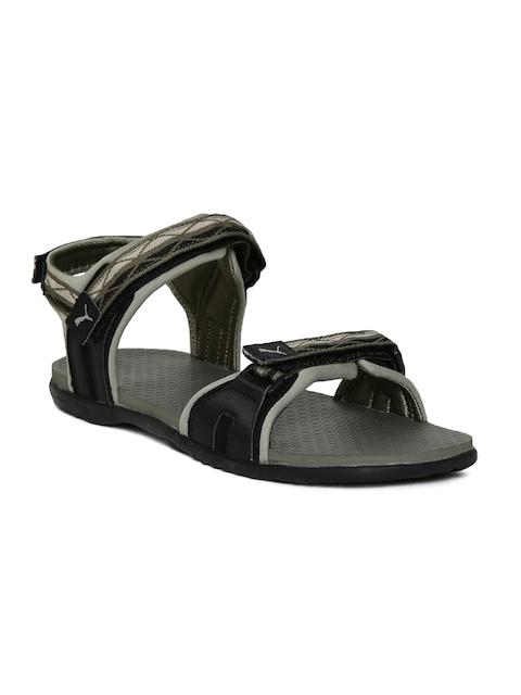 Puma Unisex Black Comfort Sandals