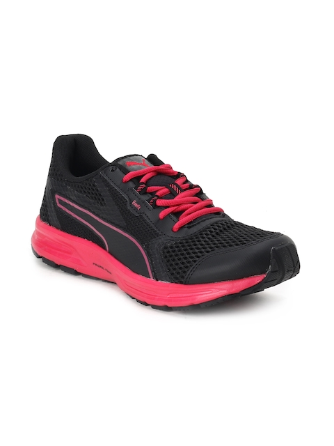 Puma Women Black EssentialRunnerWnsIDP Running Shoes