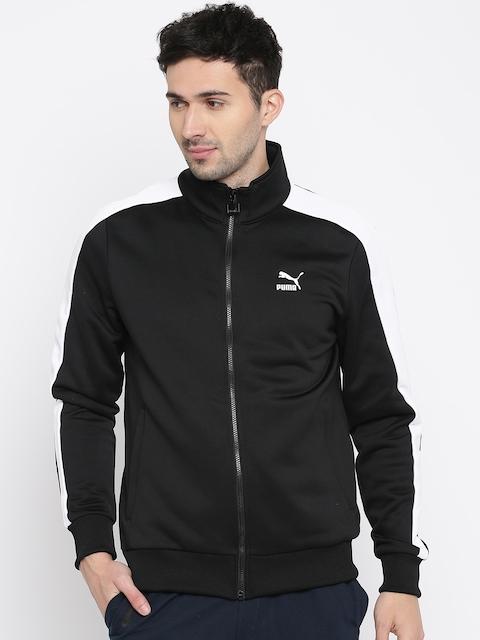 Puma Men Black Solid Sweatshirt