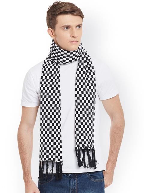 PUNK Black & White Printed Muffler