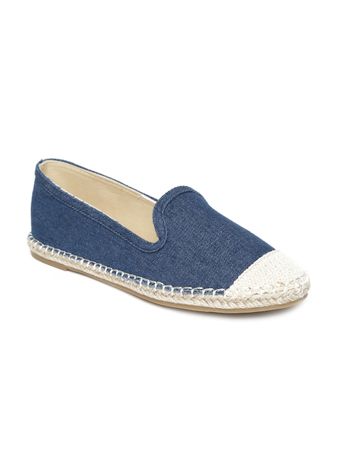 Carlton London Women Denim Blue Espadrilles