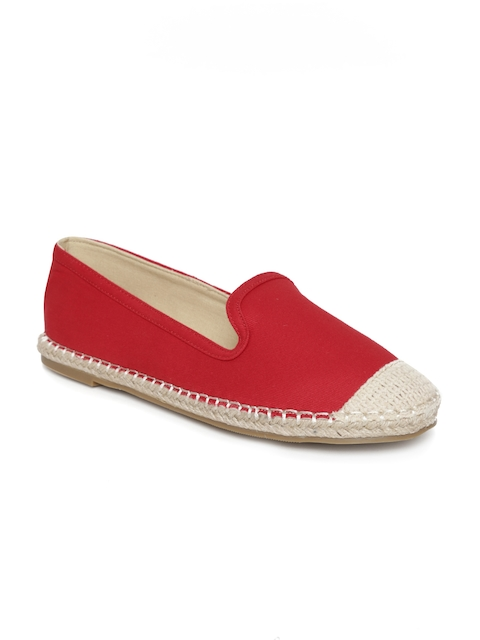 Carlton London Women Red Espadrilles