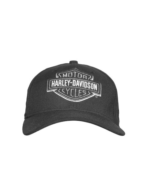 Harley-Davidson Men Black Solid Cap