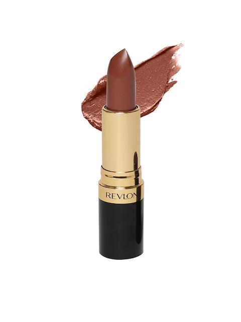 Revlon Breezy Brown Super Lustrous Matte Lipstick 393