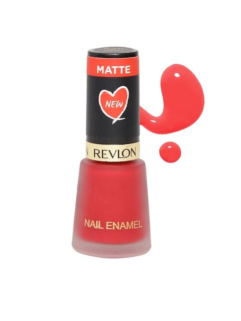 Revlon New Hot Matte Nail Paint, 8 ML 525