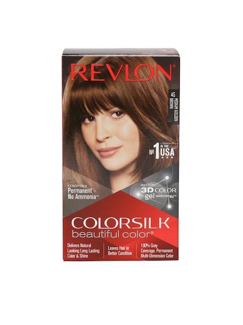Revlon Colorsilk Unisex Beautiful Color Medium Golden Brown Hair Colour Kit