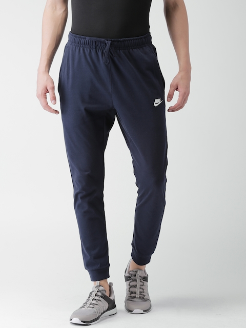 Nike Men Navy Standard Fit AS M NSW CLUB Joggers