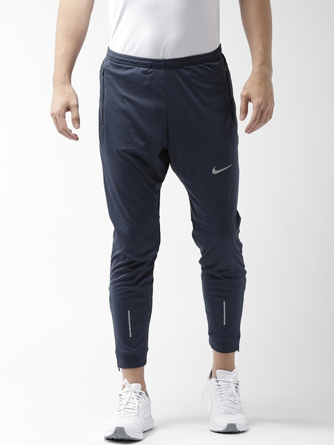 Nike Men Navy AS Essential Knit Running Joggers