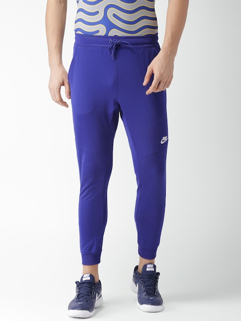 Nike Men Blue AS M NSW JGGR PK TRIBUTE Slim Fit Track Pants