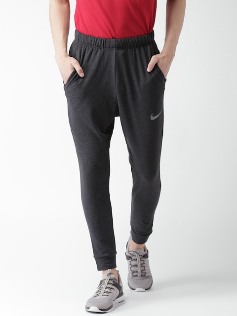 Nike Men Charcoal Grey AS M NK DRY PANT TPR HPRDRY LT Joggers