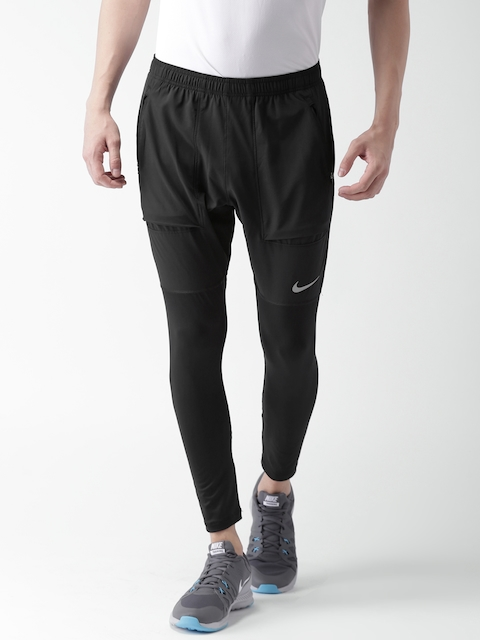 Nike Men Black AS M NK ESSNTL HYBRID Track Pants