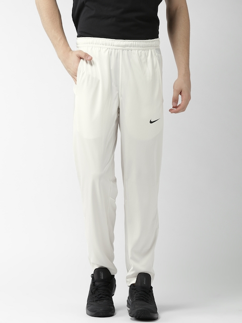 Nike Men Off-White AS TS Dry Cricket Track Pants