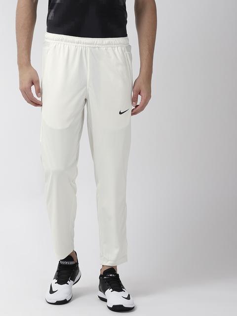 Nike Men Off-White AS TS Dry Cricket Track Pants
