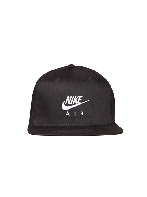 Nike Unisex Black NSW Pro AIR Solid Baseball Cap