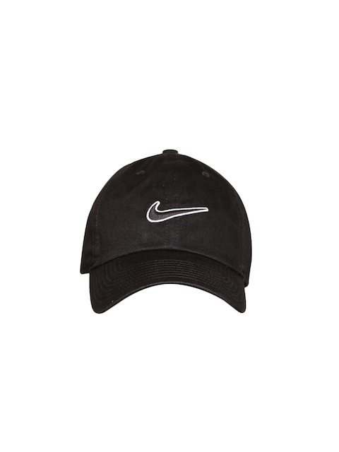 Nike Unisex Black NSW H86 Essential Swh Solid Baseball Cap