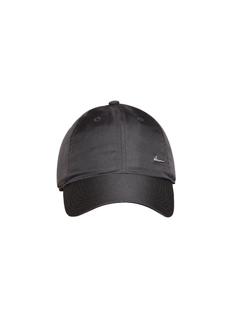 Nike Unisex Black NSW H86 Metal Swoosh Solid Cap