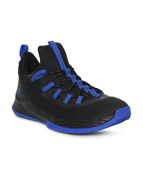 Nike Men Black JORDAN ULTRA FLY 2 LOW Basketball Shoes