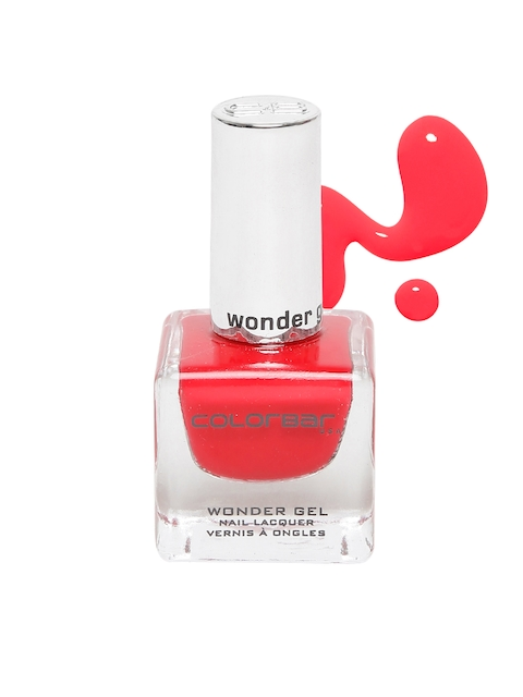 Colorbar CWG011 Wonder Gel Nail Lacquer, Daylight Red 011