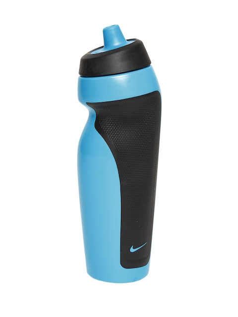 Nike Unisex Blue & Black Sport Water Bottle
