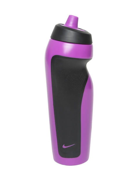Nike Unisex Purple & Black Sport Water Bottle