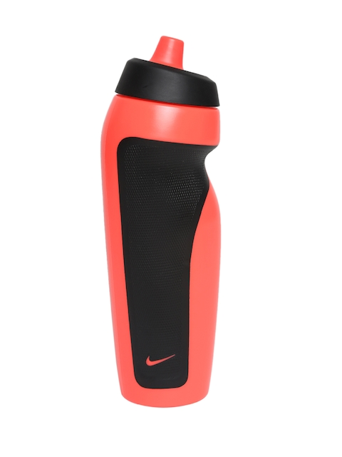 Nike Unisex Coral Orange & Black Sport Water Bottle
