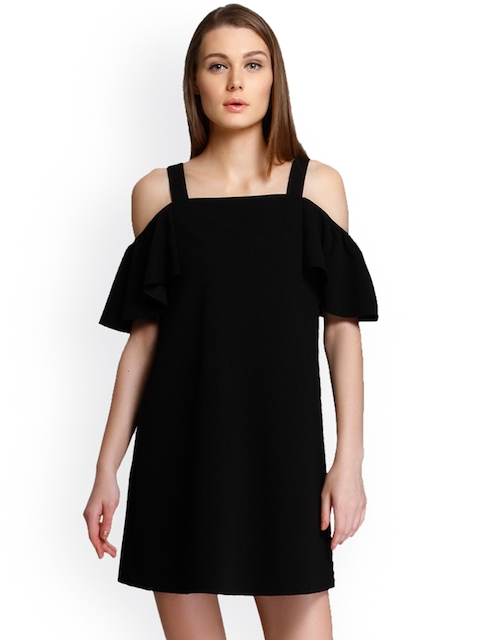 ONLY Women Black Solid Dress