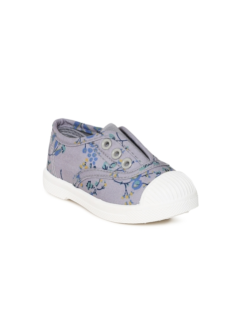 Fame Forever by Lifestyle Girls Grey Slip-On Sneakers