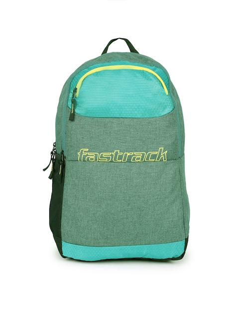 Fastrack Men Green Solid Backpack