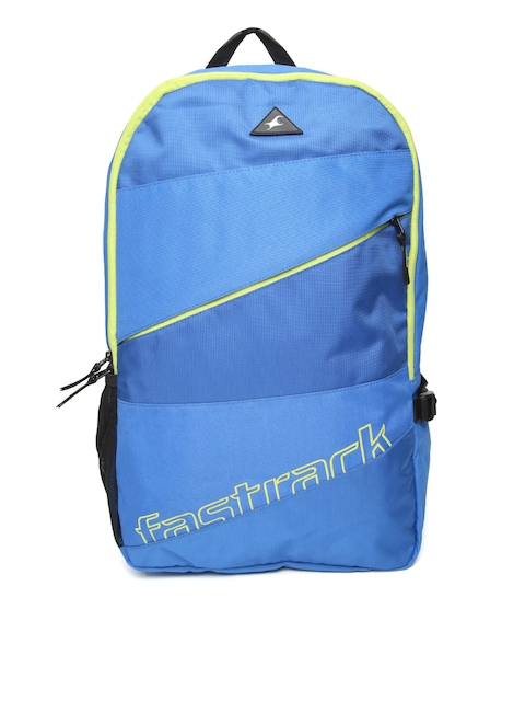 Fastrack Men Blue Solid Backpack