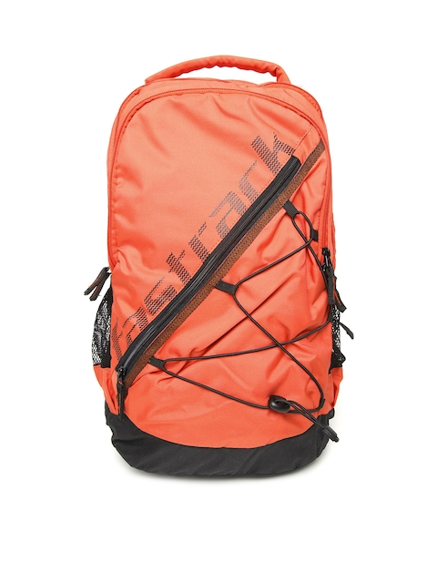 Fastrack Men Orange Backpack