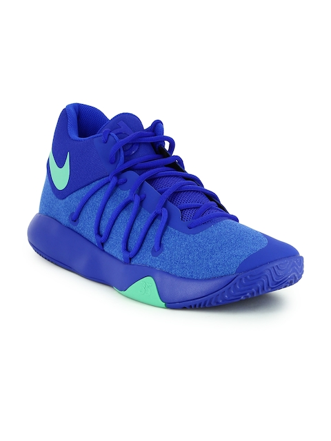 Nike Men Blue KD TREY Basketball Shoes