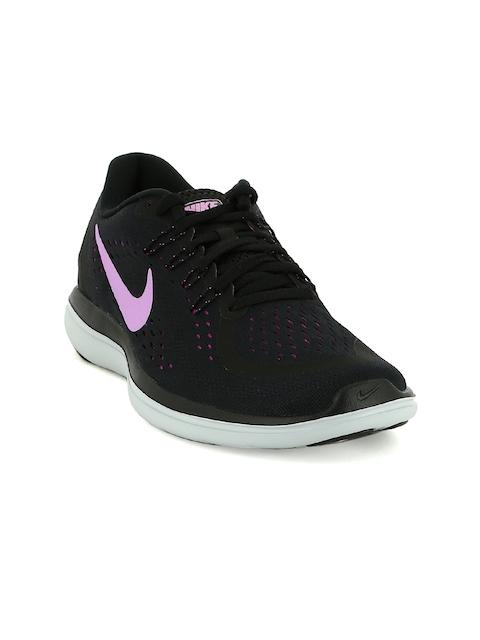 Nike Women Black FLEX 2017 RN Running Shoes
