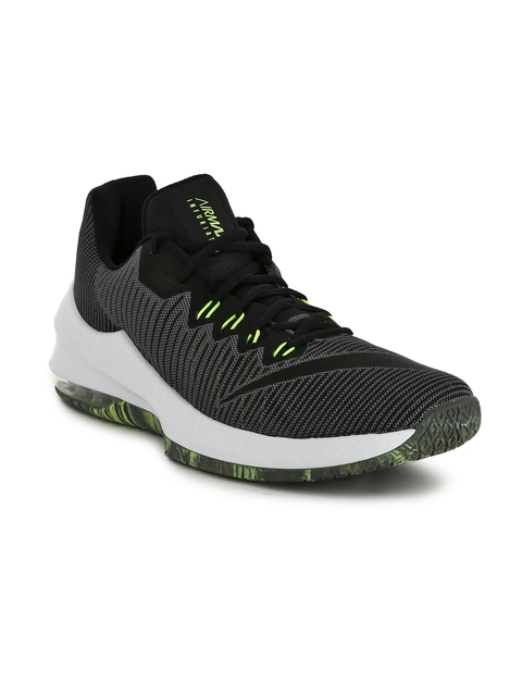Nike Men Grey Air Max Infuriate 2 Basketball Shoes
