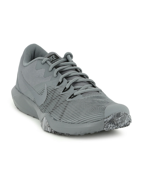 Nike Men Grey Training Retaliation Shoes