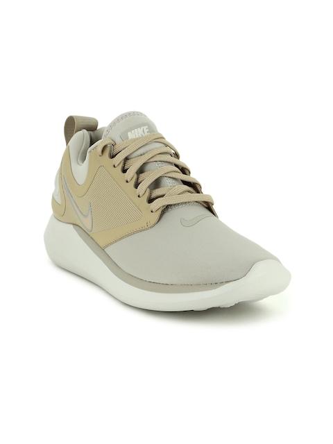 Nike Women Grey & Beige LUNARSOLO Running Shoes