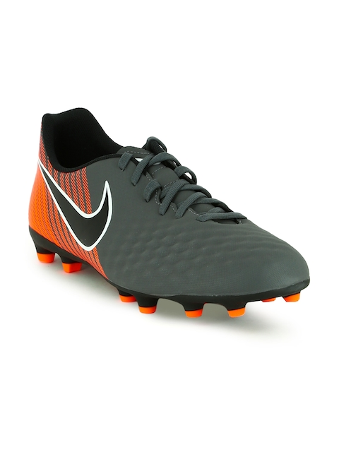 Nike Men Grey Obra 2 Club Football Shoes