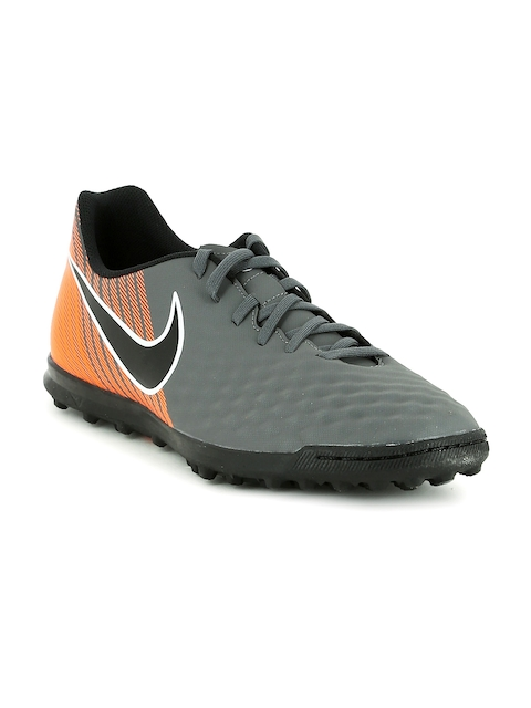 Nike Men Grey OBRAX 2 CLUB TF Football Shoes