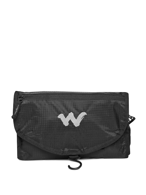 Wildcraft Unisex Black Pac n Go Travel Kit