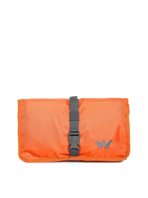 Wildcraft Unisex Orange Pac n Go Travel Kit