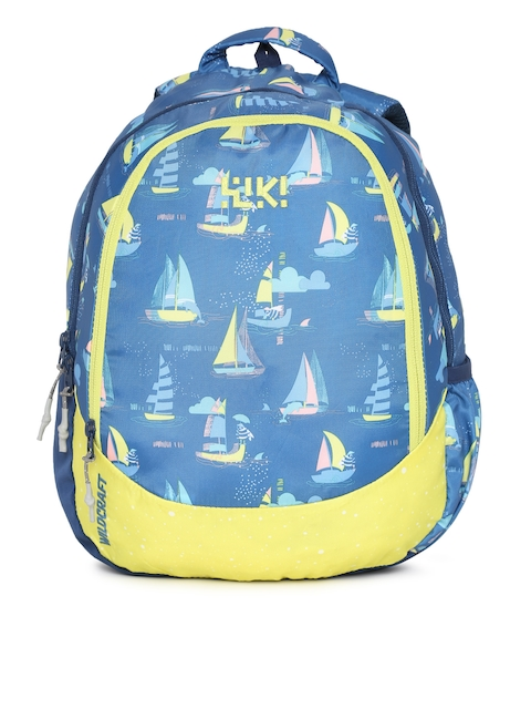 Wildcraft Unisex Blue Wiki J 1 Sailor Graphic Backpack